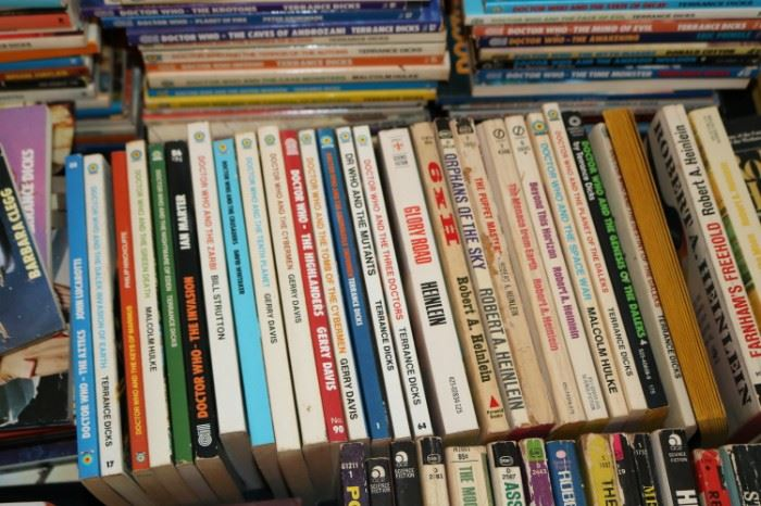 Vintage Sci-fi paperback Books