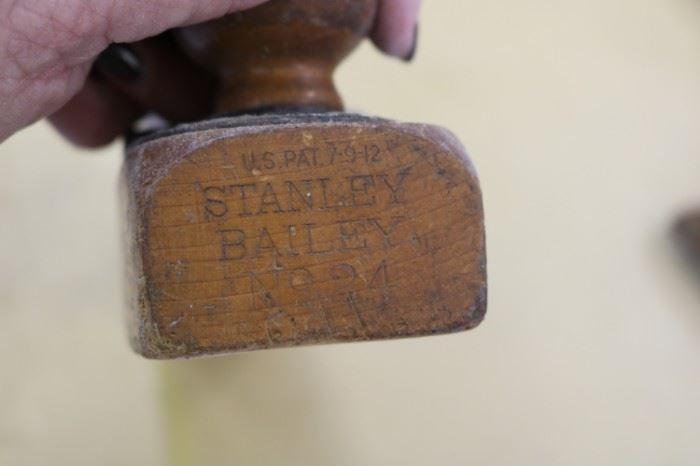 Stanley Bailey No. 24  Antique Wood Plane