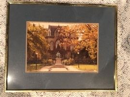 "Ohio State ""The QUAD"" By Mary Dolan"