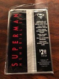 Superman Memorial Set