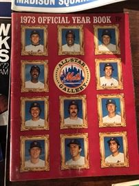 1973 Official Yearbook Mets All-Star Gallery