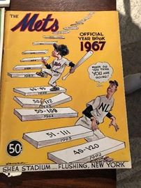 1967 The Mets Official Yearbook