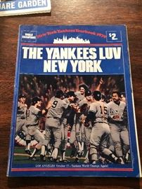 1979 Yannkee Yearbook The Yankees LUV New York Los Angeles October 17, Yankees world champs