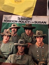 The Buckinghams Foreign Policy C/W Susan 45