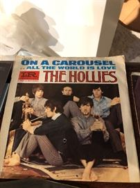 The Hollies On a Carousel All the world is love