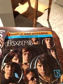 The Doors People are strange, B/W Unhappy Girl