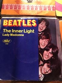 The Beatles The Inner light and Lady Madonna 45