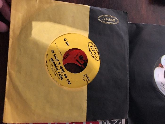 Georgie Fame The Ballad of Bonnie and Clyde 45 RPM