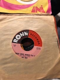 Big Mac Rough Dried Woman Part 1 and 2, on Ronn Records 45 RPM