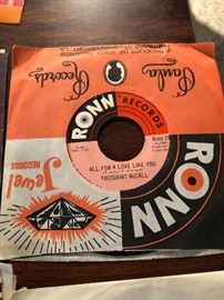 Toussaint McCall All for a love like you on Ronn Records