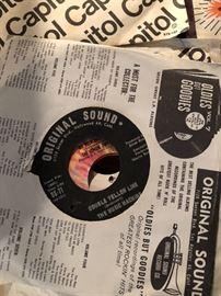 "The Music Machine – Double Yellow Line - Original Sound – OS-71 45rpm 7"""