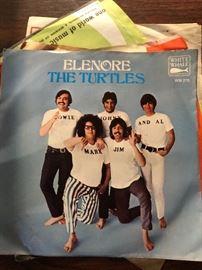 "THE TURTLES ""Elenore"" w/Pic White Whale 45 RPM"