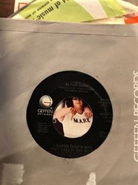 Elton John I guess thats why they call it the blues 45 RPM Geffen records