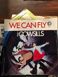 """The Cowsills - We Can Fly / A Time For Remembrance 7"""" Mint- Vinyl 45 MGM K"""