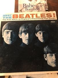Meet the Beatles The first Album by Englands Phenomenal Pop Combo Capitol Records LP