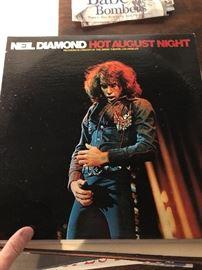 Neil Diamond Hot August Night LP