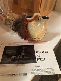 Pottery Signed Pauli