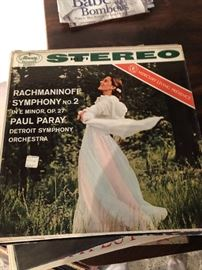 Rachmaninoff Symphony No. 2 In 'E Minor, OP 27 Paul Paray Detroit Symphony Orchestra