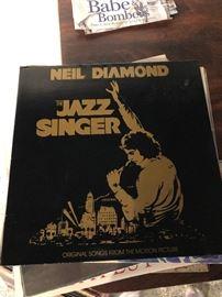 Neil Diamond the Jazz Singer LP
