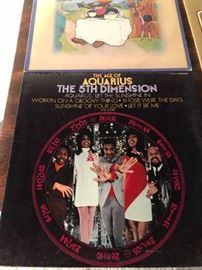 The Age of Aquarius The 5TH Dimension LP