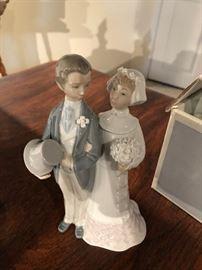Lladro Wedding Couple with box