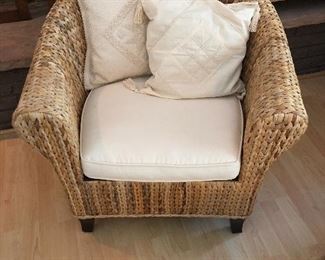 Nice heavy weave wicker furniture from Sante Fe, New Mexico