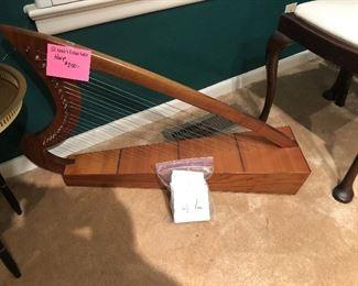 Rosewood Harp