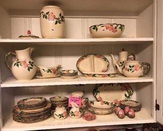 Desert Rose Franciscan Pottery