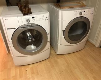 Maytag front loading washer and dryer