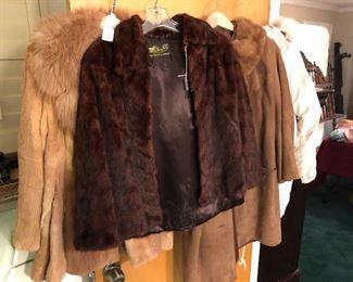 Fox, Mink, Rabbit coats