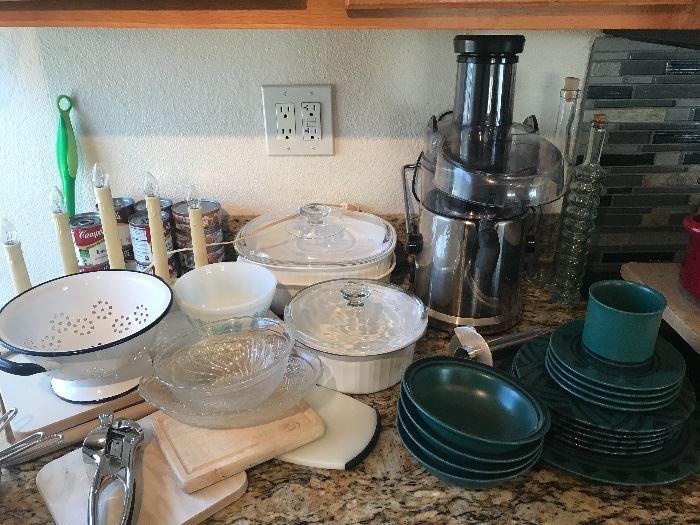New & Vintage kitchen items