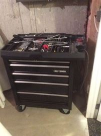 Craftsman Rolling Tool Chest with Tools