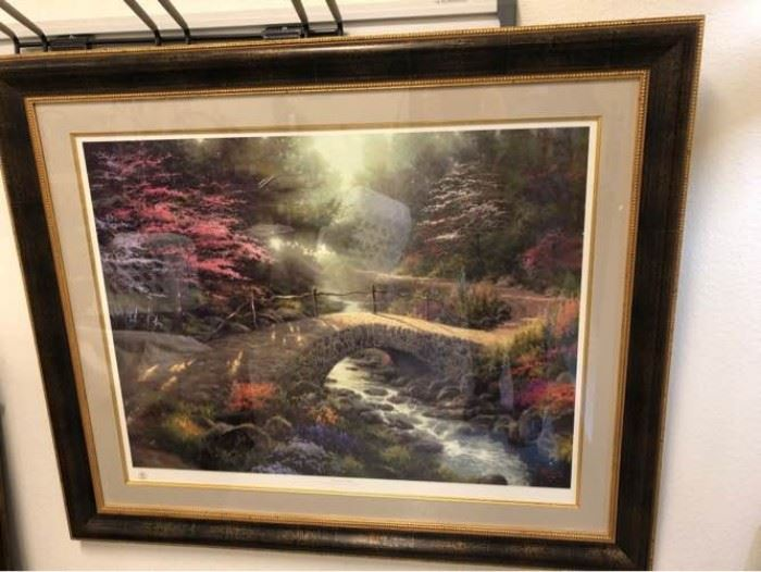 Thomas Kinkade Bridge of Faith