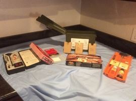 Ammo Box with Ammo and Gun Supplies