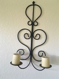 wall sconce candle holder