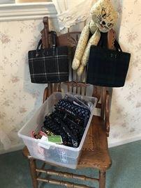Pendleton Wool purses, So Much Vera Bradley....