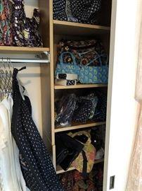 Vera Bradley garment bag and bags and bags... !