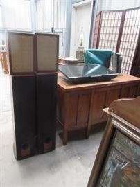 More Sets of Speakers and vintage furniture