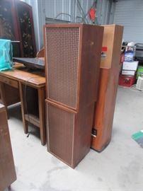 Two Massive Vintage Speakers