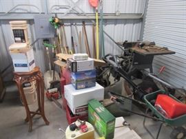 Tools for the Garage and the Yard