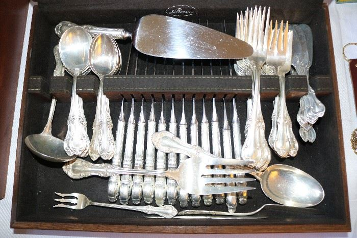 International Silver Co. Flatware Set, Service for 12