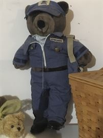 Mail Carrier Bear