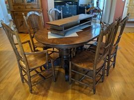 $450  Amish table and chairs