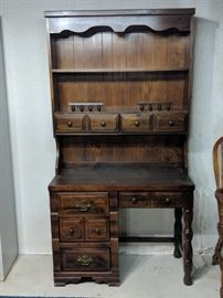 $60  Desk with hutch