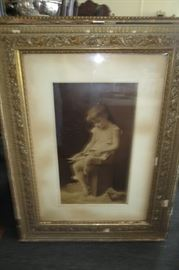 Elisa Koch (1862-1928) antique print.  From a home off of Magazine Street in New Orleans.  #1 out of 5.