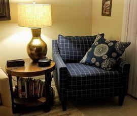 2 Kincaid Plaid Sitting Chairs