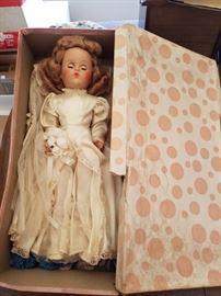 Park Ave bride doll in original box number 1277