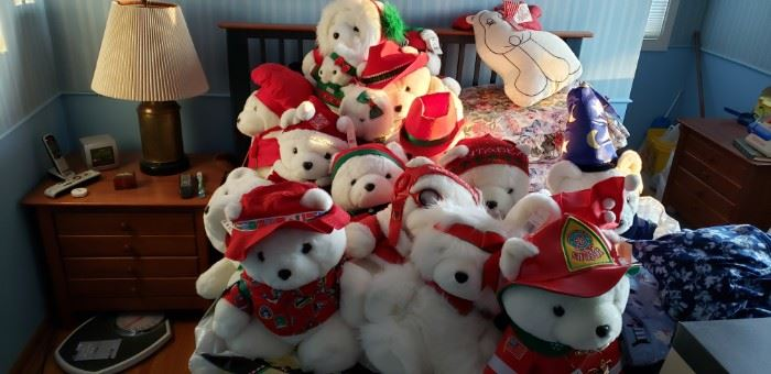 Santa Bear Collection
