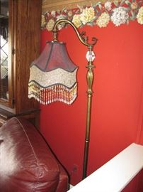 Ornate Vintage Victorian/ Art Deco  Floor Lamp