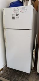 Please ASK to view as not in main staging areas ----- garage fridge